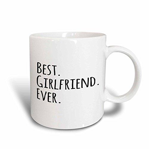 3dRose mug_151503_5 Best Girlfriend Ever