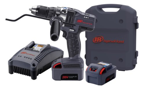 Ingersoll Rand D5140-K2 1/2-Inch Cordless Drill Driver, Charger, 2 Li-ion Batteries and Case - Ingersoll Rand Case