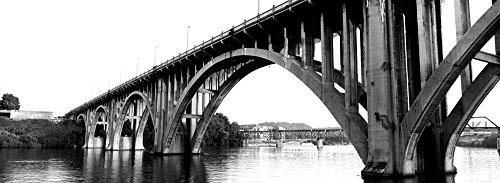 Henley Street Bridge, Tennessee River, Knoxville, Tennessee by Panoramic Images Art Print, 36 x 13 - Images Knoxville