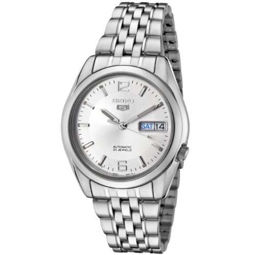 (Seiko Men's SNK385K Automatic Stainless Steel Watch)