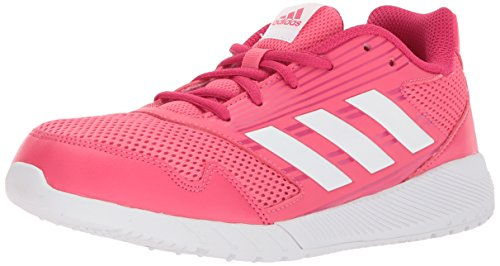 Price comparison product image adidas Performance Girls' Altarun K, Real Pink/White/Vivid Berry, 12 M US Little Kid