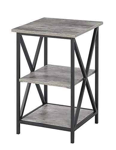 Convenience Concepts 161849C1 Tucson 3-Tier End Table, Faux Birch (Table Side Tier 3)