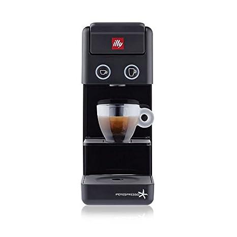 Máquina de café de cápsulas illy Modelo Y3.2 Iperespresso) Color Negro, Máquina Café Illy IperEspresso Y3.2, Máquina Cápsulas ideal Sia para café espresso ...