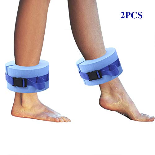 For Sale! PinnacleT1 Foam Swim Aquatic Cuffs,2 Pack Hydrotherapy Ankle Cuff Swimming Weights with Qu...