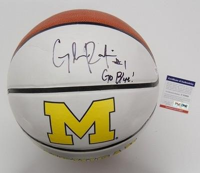 Glenn-Robinson-Iii-Signed-Michigan-Wolverines-Basketball-Psadna-Coa