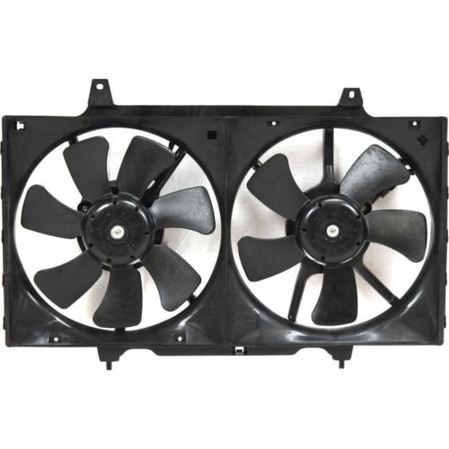 MAPM Premium ALTIMA 98-01 RADIATOR FAN SHROUD ASSEMBLY, Exc 00-01 M.T. by Make Auto Parts Manufacturing (Image #1)