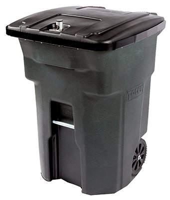 Toterorporated 025864-04BKS 64 Gallon Bear Tight Garbage Can