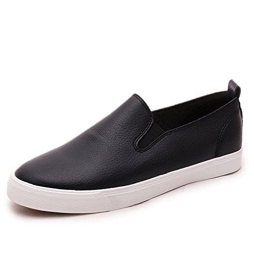 MINIVOG Womens Fashion Sneaker Black