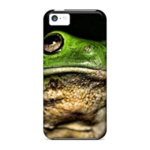 ipod touch4 -- For Animals Green Frogs PC New Snap-on case cover covers protection yueya's case