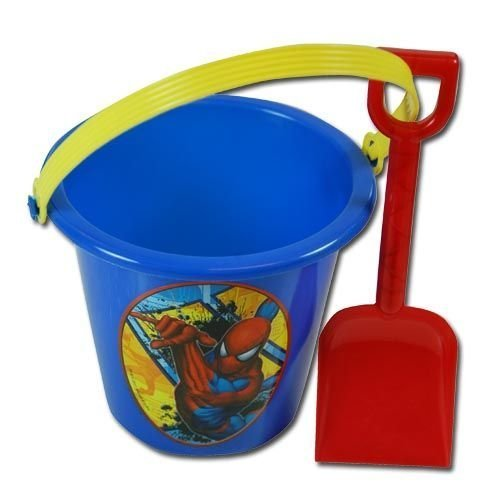 Spiderman Sand Bucket and Shovel