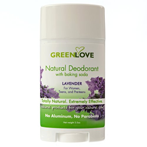 Green Love Natural Deodorant with Baking Soda, Healthy - Import It All