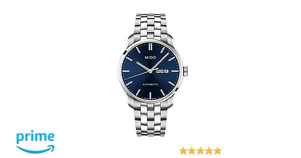 Amazon.com: Mido Belluna II Automatic Blue Dial Mens Watch M024.630.11.041.00: Mido: Watches