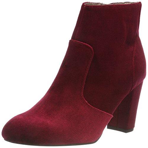 Rouge 25300 Red Dark Botines s 31 Femme 505 Oliver 1vpBXxf