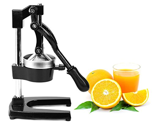Zulay Commercial Metal Orange Lemon Lime Squeezer
