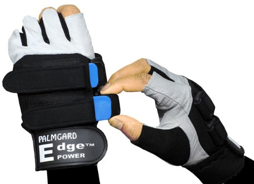 Black Adult Small Weighted Training Gloves
