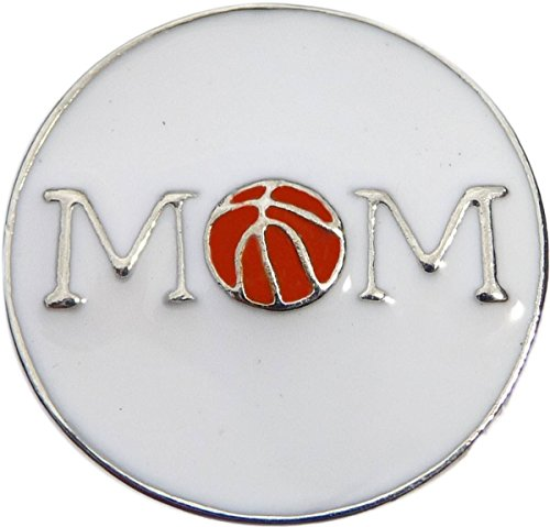 Basketball Mom Snap Charm (Standard 18mm Size) ()