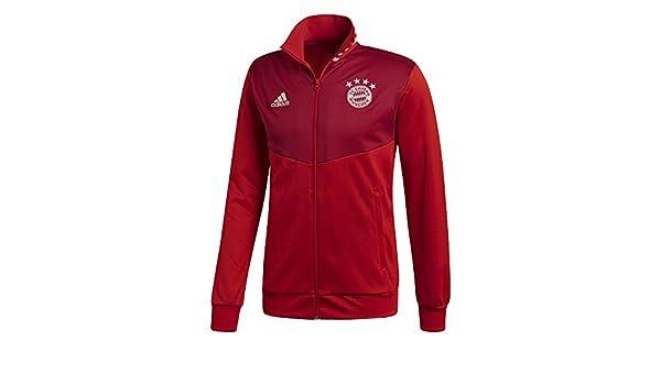 Amazon.com : adidas 2018-2019 Bayern Munich 3S Track Top ...