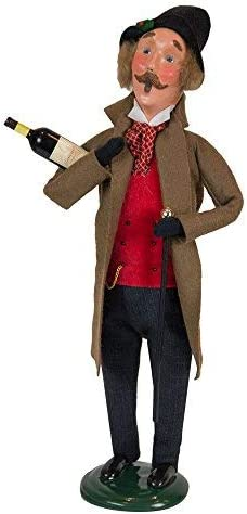 Byers Choice Victorian Man w Wine 113M