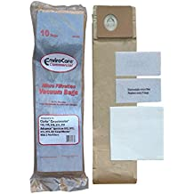 10 Advance Spectrum, Clarke CarpetMaster and Nilfisk Commercial Upright Allergy Vacuum Cleaner Bags 1471058500 and (1) Exhaust Filter 147 0966 500, (2) Pre Filters 147 0960 500