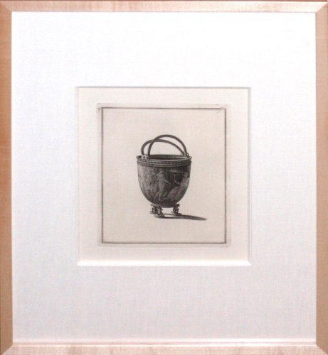 Plate 49 - Engraving of vase or urn from Sir William Hamilton's Collection of Etruscan, Greek and Roman Antiquities.