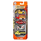 Matchbox Fire Rescue Vehicles, 5 Pack