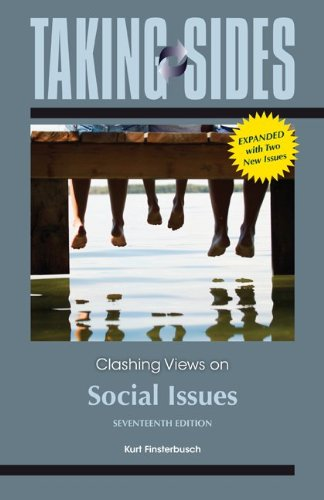 Taking Sides: Clashing Views on Social Issues, Expanded