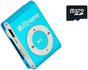 Xtreme 27632b Audio Files Player with Earphones, Mini USB Cable and Memory 4GB