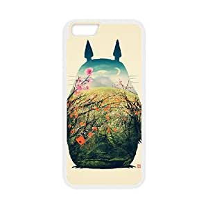 iPhone 6 Plus 5.5 Inch phone Case My Neighbor Totoro Protective Cell Phone Cases Cover DFG141058