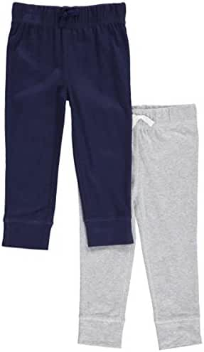 Carters Baby Boys' Solid Pants - 2 Pack (18 Months)