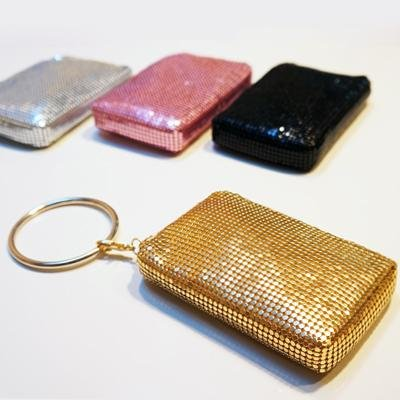 Silver Bling Bangle Pouch by Mollaspace