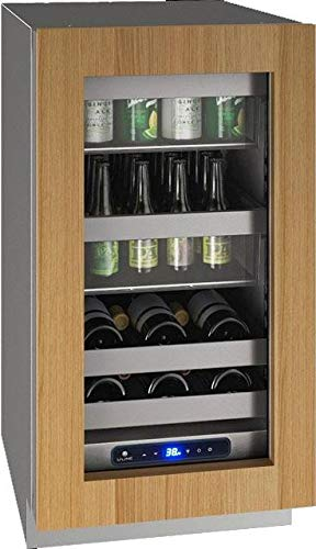U-Line UHBV518IG01A 5 Class Series 18 Inch Freestanding or Built In Beverage Center in Panel Ready with Glass