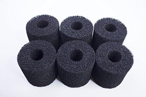 Biopower 160//200 240 LTWHOME Compatible Mousse de Filtre Convient pour Eheim 2618060 Cartridges Aquaball 45//2206 Paquet de 12