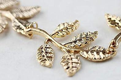 d1bd8e2bebb2f ASOSMOS Hochzeit Strass Perle Haarband Haarband Alice Haarband Hochzeit  Kofband - Weinblatt Dekoration