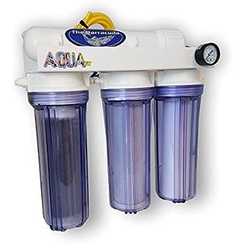 AquaFX Barracuda RO/DI Aquarium Filter, 100 GPD