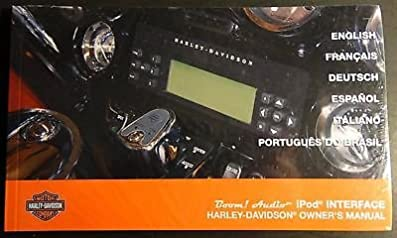 harley davidson boom audio ipod interface owners manual new p n rh amazon com harley davidson boom audio manual 2015 harley davidson boom audio owner's manual
