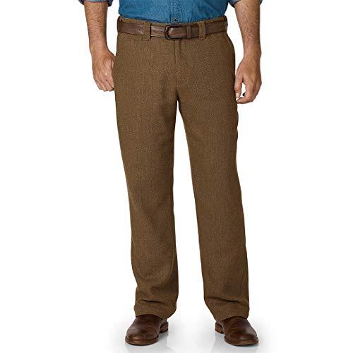 TERRITORY AHEAD Men's The Back East Washable Wool Herringbone ()