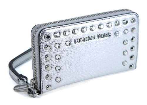 Michael Michael Kors Large Jet Set Jeweled Metallic Multifunction Case by MICHAEL Michael Kors