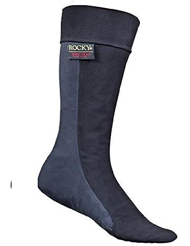 Rocky Men's Gore-Tex Waterproof Socks, Black/Grey, Size 12 - Gore Tex Slip
