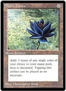 Amazon Com Magic The Gathering Black Lotus Oversized 2
