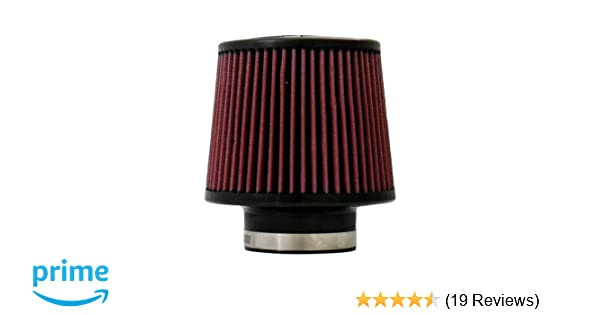 """5/"""" Tall Injen X-1013 DRY AIR FILTER 2.75/"""" Inlet 5/"""" Top 6/"""" Base"""
