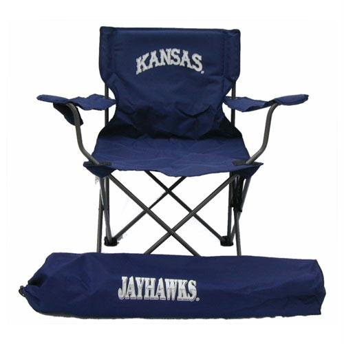 (Kansas Jayhawks NCAA Ultimate Adult Tailgate Chair by Rivalry Distributing)