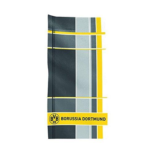 BERTELS BVB Borussia Dortmund Serviette de Toilette 50 x 100 cm