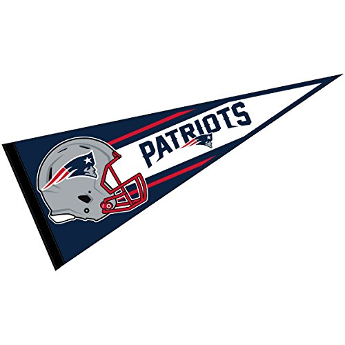 WinCraft New England Patriots Official NFL 30 inch Large Pennant -