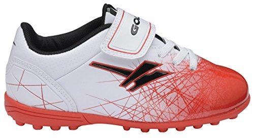 Gola  Football Boots, Jungen Fußballschuhe, weiß - weiß / rot - Größe: 31