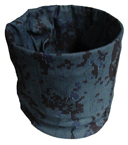(Tactical Digital Black Ops Camo Camoflauge Multi Function ACU Microfiber Headband Face Mask)