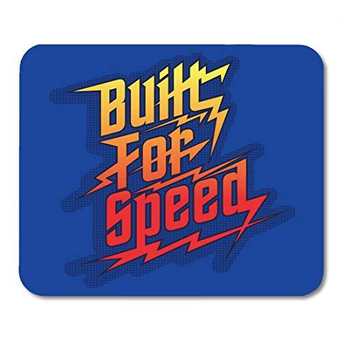 Semtomn Mouse Pad Race Speed Racing Car Graphics Font-Shirt Motor Formula Automotive Mousepad 9.8