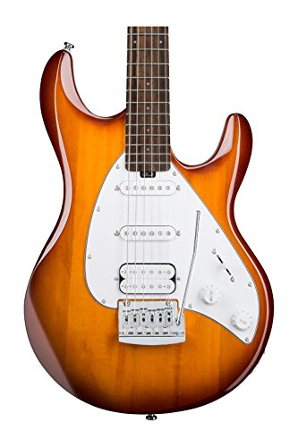 Sterling by Music Man S.U.B. Series Silo3 Silhouette Electric Guitar, Tobacco Sunburst by Sterling by Music Man (Image #1)