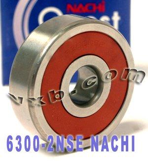 10x35x11 Sealed Vxb Ball Bearings (6300-2NSE Nachi Bearing 10x35x11 Sealed C3 Japan Ball Bearings)