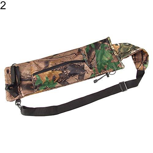Archery Bag,hAohAnwuyg Bow & Arrow,Outdoor Camo Oxford Fabric Waist Hanging Pot Bag Pouch Bow Quiver Archery Holder - - Carbon Arrows Camo