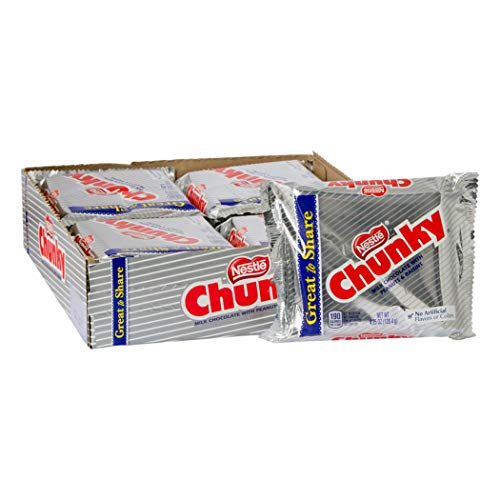 Nestle Chunky Giant Bar, 4.25-Ounce Packages (Pack of 12) ()